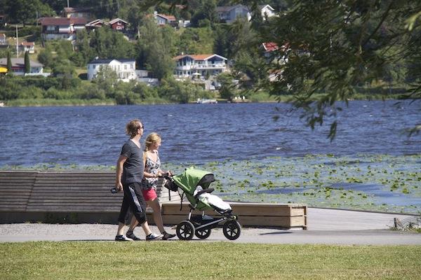 lago Malaren Sigtuna Suécia