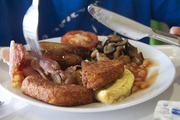 pequeno-almoço inglês