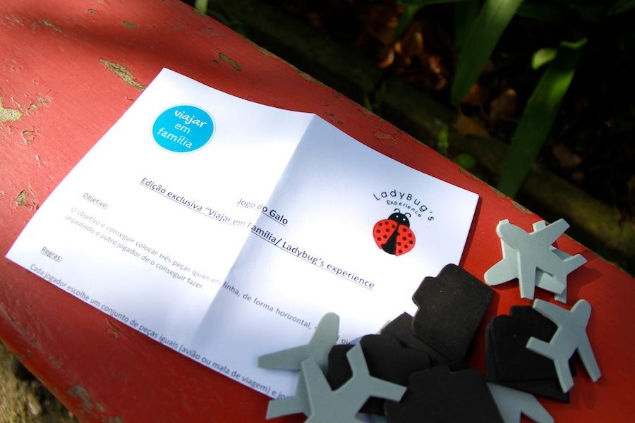 Jogo do galo Viajar em Família & Ladybug's Experience