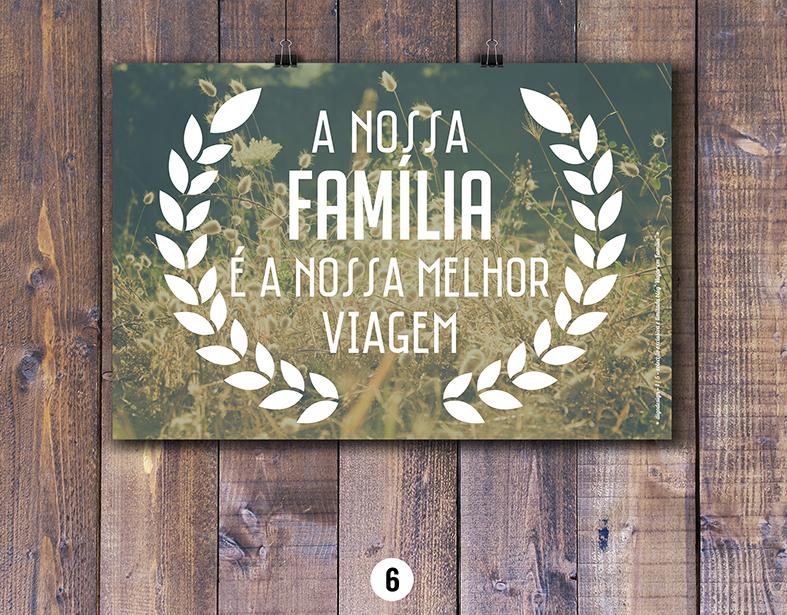 Posters Viajar em Familia e Digo Design