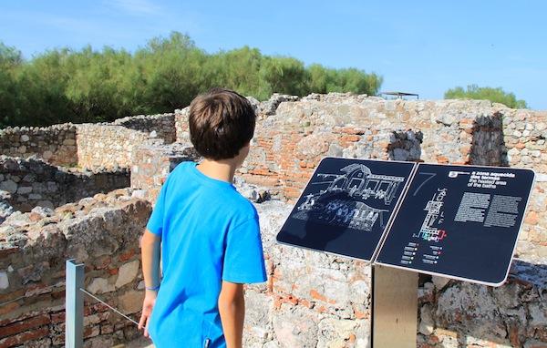 ruinas romanas Tróia