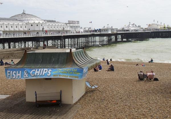 gaivotas Brighton