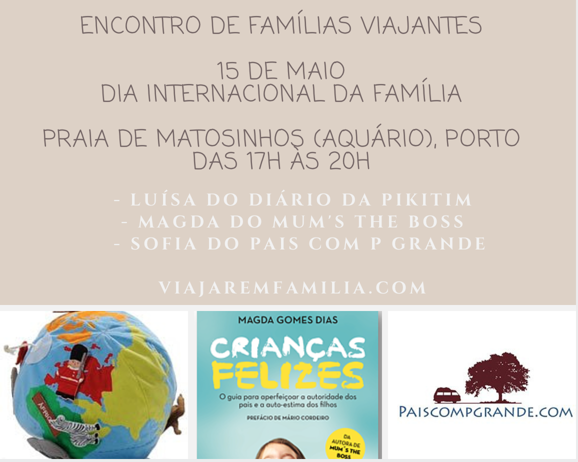 encontro de famílias viajantes
