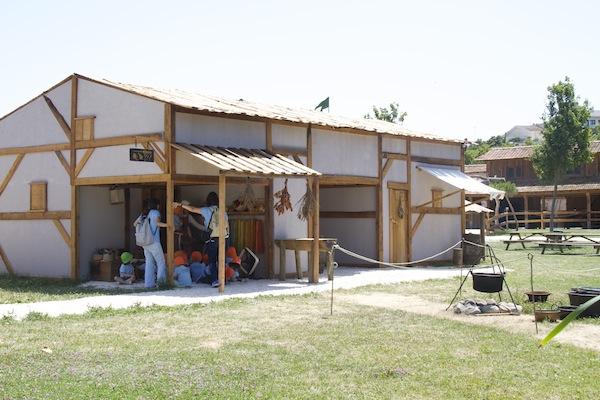 aldeia medieval parque dos monges