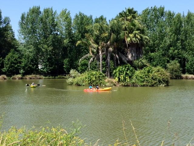canoagem parque dos monges