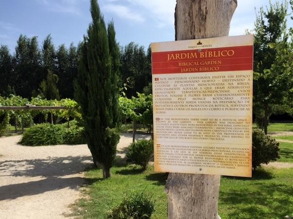 jardim biblico parque dos monges