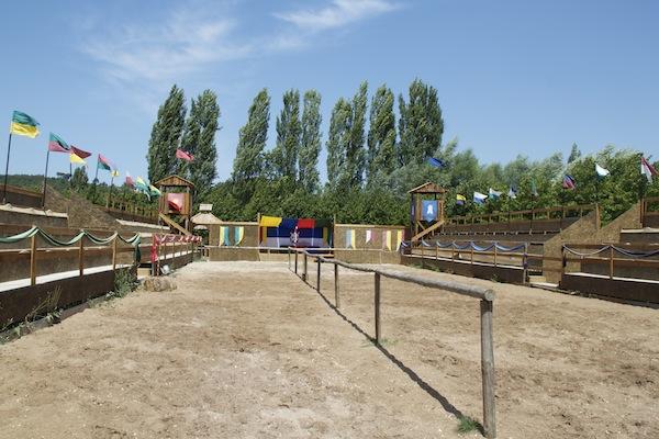 torneio medieval parque dos monges