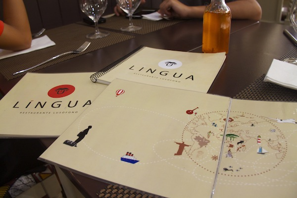 língua restaurante lusófono