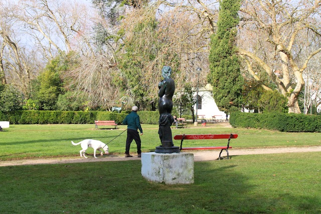 estatua parque das caldas