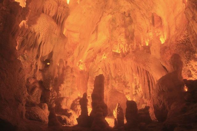 grutas da moeda interior